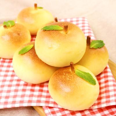 ふっくらまんまる リンゴパン