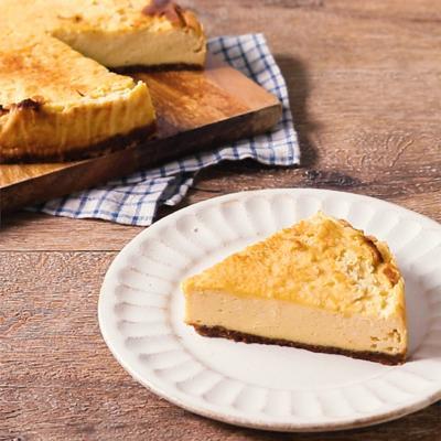 水切りヨーグルトと酒粕でベイクドチーズケーキ風