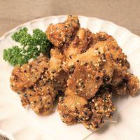 山椒と胡麻の鶏唐揚げ