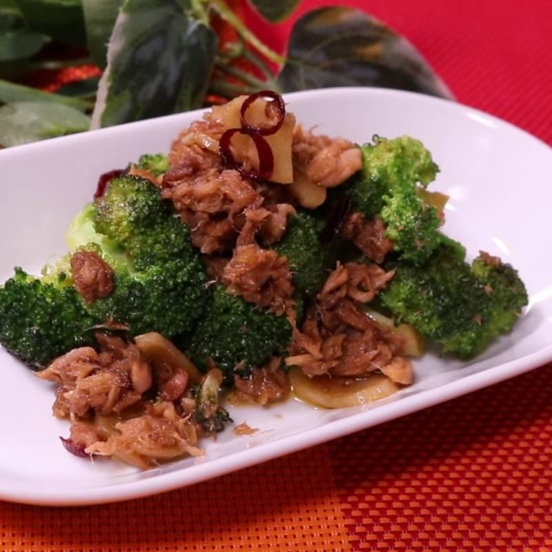 常備菜に!ツナとブロッコリーのにんにく炒め 作り方・レシピ ...