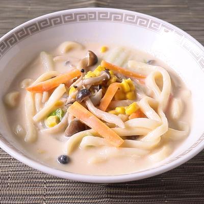 中華風 ごま味噌豆乳うどん