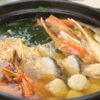 海の幸たっぷり 海鮮鍋