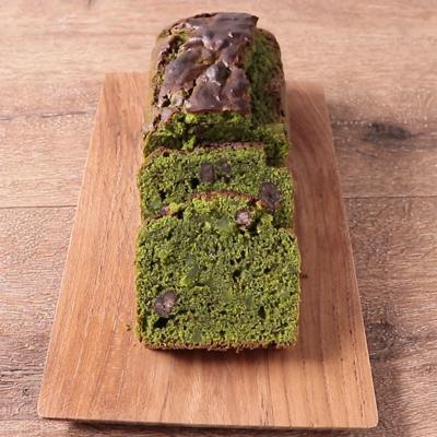 HMで抹茶と甘納豆のパウンドケーキ