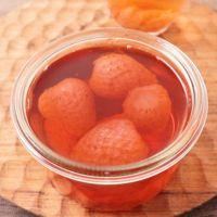 レンジで作る 簡単いちご酢の作り方