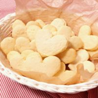 爽やかな風味 レモンのクッキー