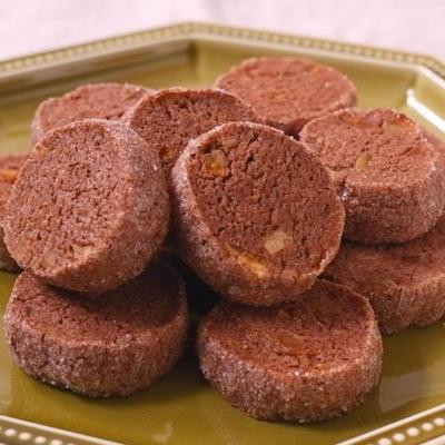 ココアとオレンジのディアマンクッキー