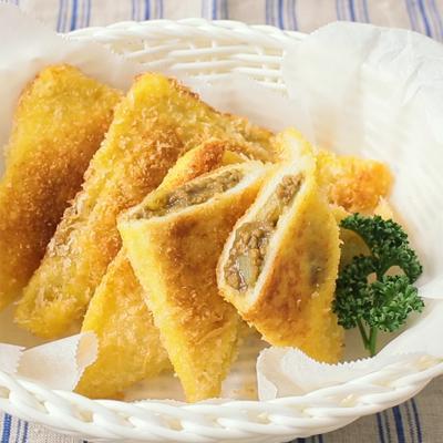 食パンで作るサクサクカレーパン
