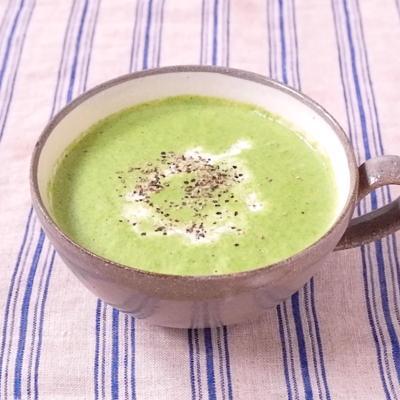 小松菜のポタージュスープ