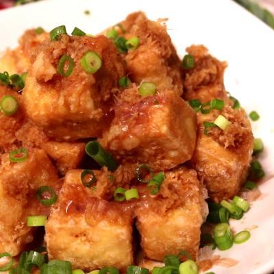 豆腐から作る!揚げだし豆腐