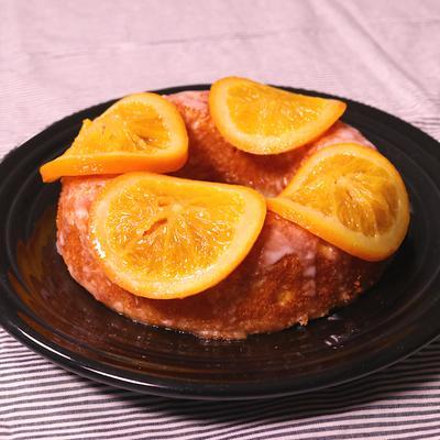 甘酸っぱい さわやかオレンジケーキ
