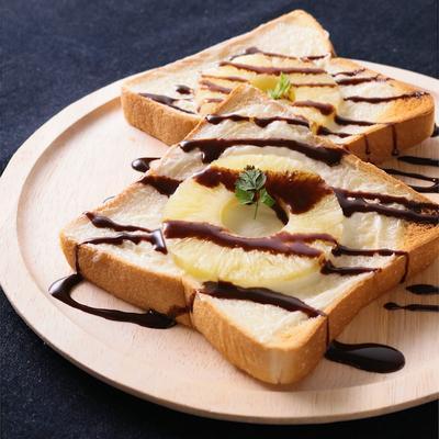 パイナップルとマスカルポーネのチョコレトースト