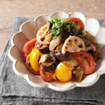 たっぷり野菜の和風ラタトゥイユ