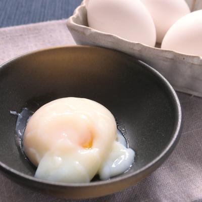 炊飯器で作る 温泉卵