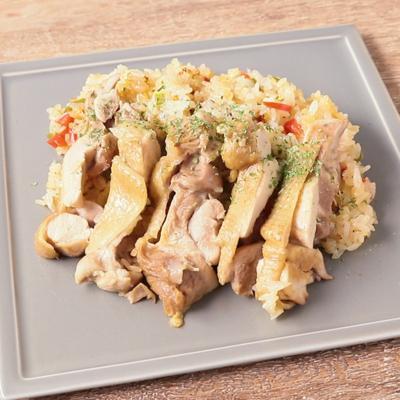 中南米の鶏炊き込みご飯 アロスコンポーヨ
