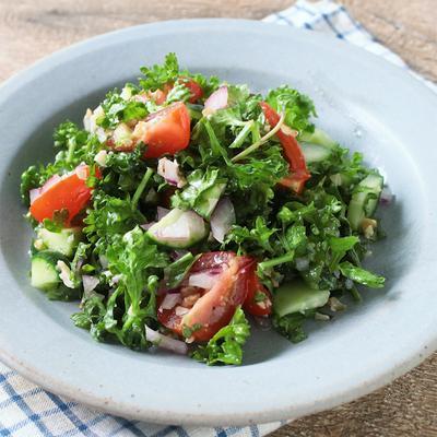 パセリの中東風サラダ 簡単タブレ
