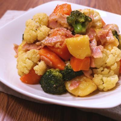 温野菜たっぷり バターサラダ