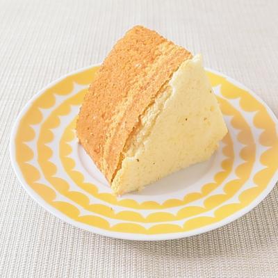 ふわふわ オレンジシフォンケーキ