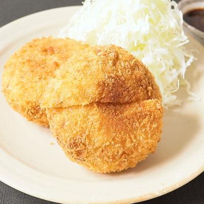 牛丼の具リメイク チーズコロッケ