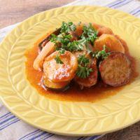 野菜たっぷり鶏のトマト煮 カチャトーラ