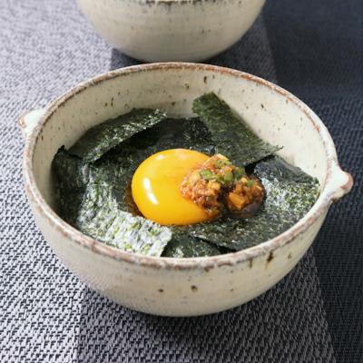 やみつきピリ辛薬味ダレの卵かけご飯
