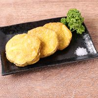 カレー風味のさつまいもの天ぷら