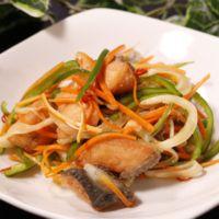 すっぱうまい 鮭の南蛮漬けサラダ