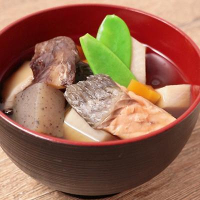 ふるさとの味 鮭ののっぺい汁