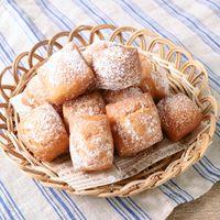 ホットケーキミックスでフランス風ふわふわ揚げ菓子