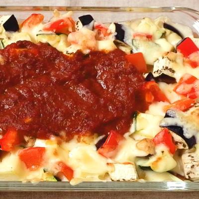 彩り野菜たっぷり クリーミードリア