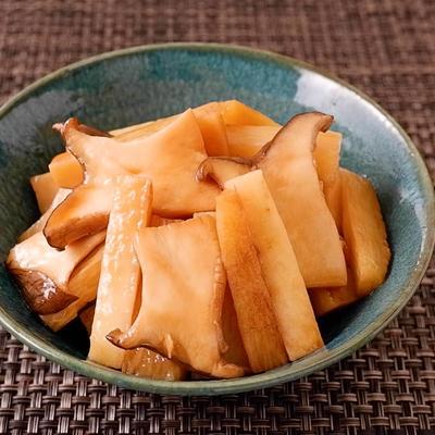 長芋とエリンギのポン酢で簡単マリネ