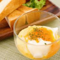 とろ〜り朝食!コンポタのエッグスラット風