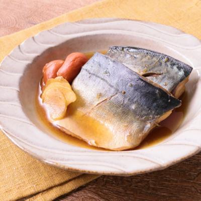サバの梅煮