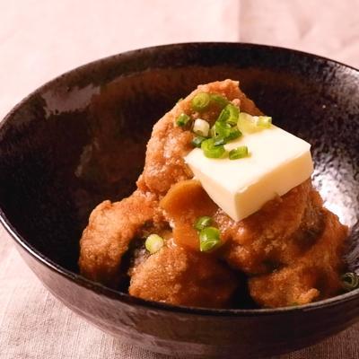 真子の味噌バター煮