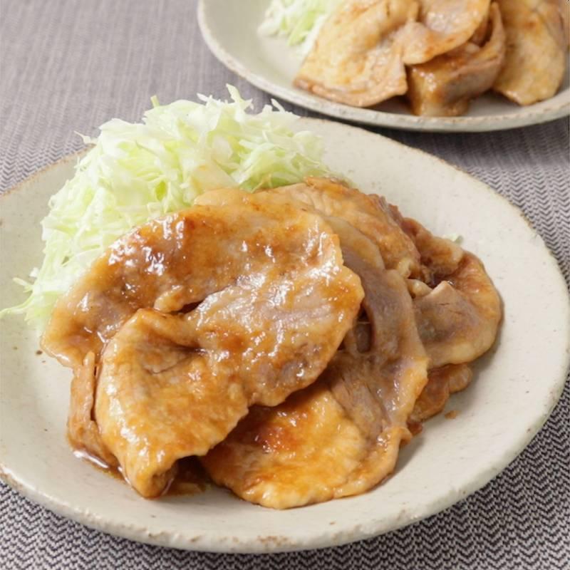 焼き 豚 ロース 薄切り 生姜