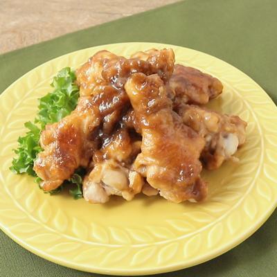 鶏手羽元のルバーブジャム煮