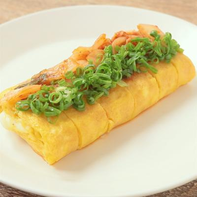 とろーり キムチチーズ卵焼き