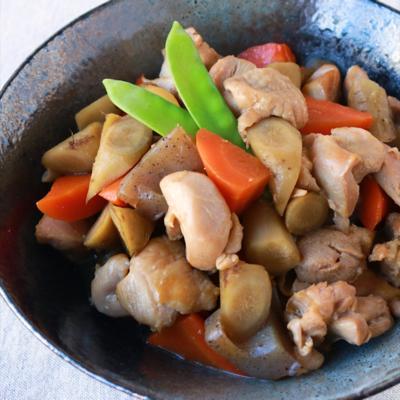 ほっこり美味しい 鶏ごぼう煮