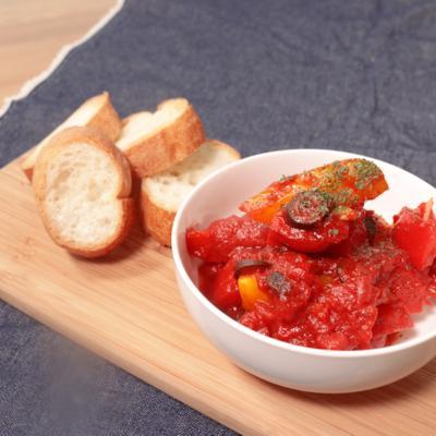 パプリカのトマト煮込み