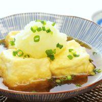 外はカリッと中はふわふわ 簡単揚げ出し豆腐