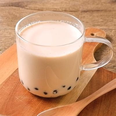 ホットタピオカほうじ茶ラテ