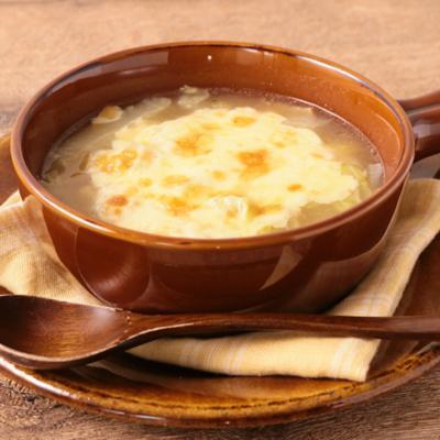 とろとろ白菜のグラタンスープ