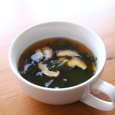 しいたけたっぷり 和風スープ