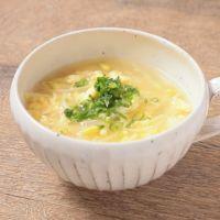 大豆もやしの中華スープ