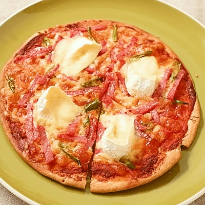 ペパロニのピリ辛ピザ