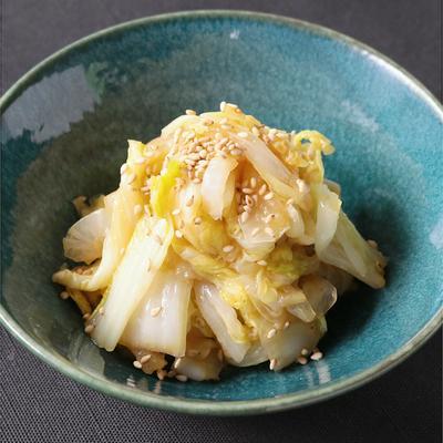 レンジで簡単 白菜のナムル