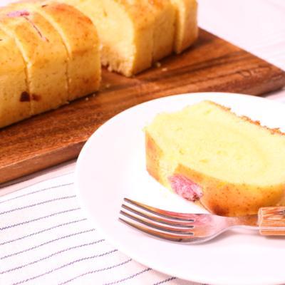 和風でしっとり!簡単白あんのパウンドケーキ