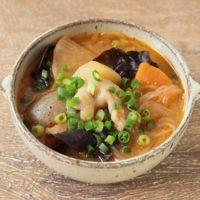ピリ辛豚汁春雨スープ
