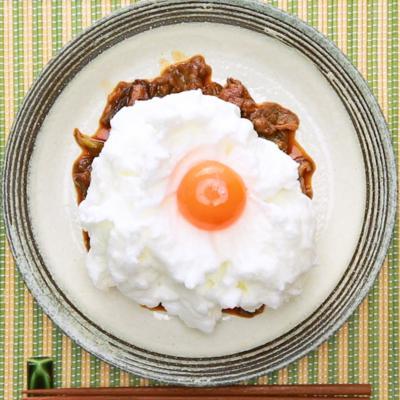 フワフワ卵のすき焼き