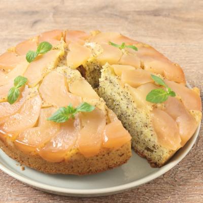 アールグレイのタルトタタン風ケーキ