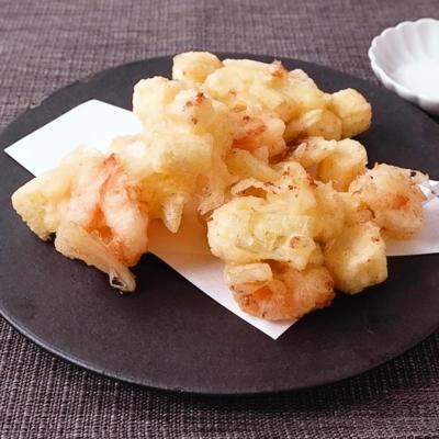 天ぷら粉で簡単ヤングコーンのかき揚げ